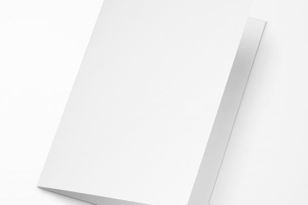 Rouwkaart Nova Memoria - Blanco