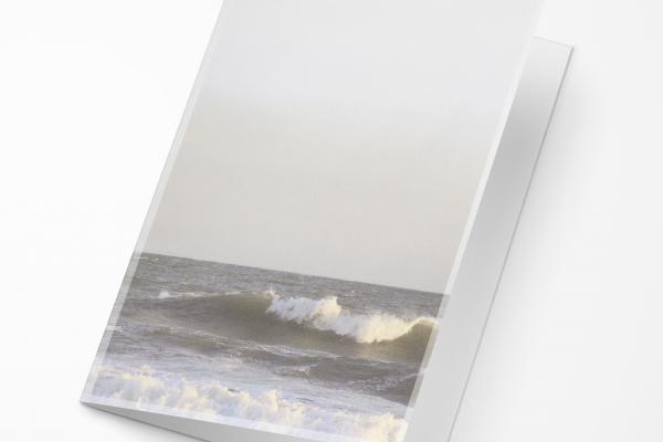 Rouwkaart Nova Memoria - Zee met Golfslag